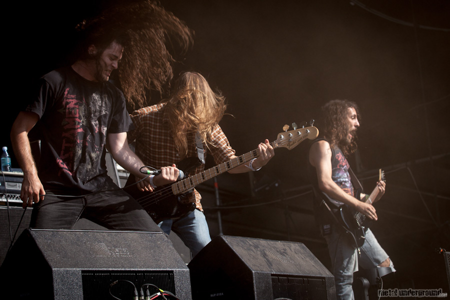 Warbringer @ Metalcamp 2012, Day 3