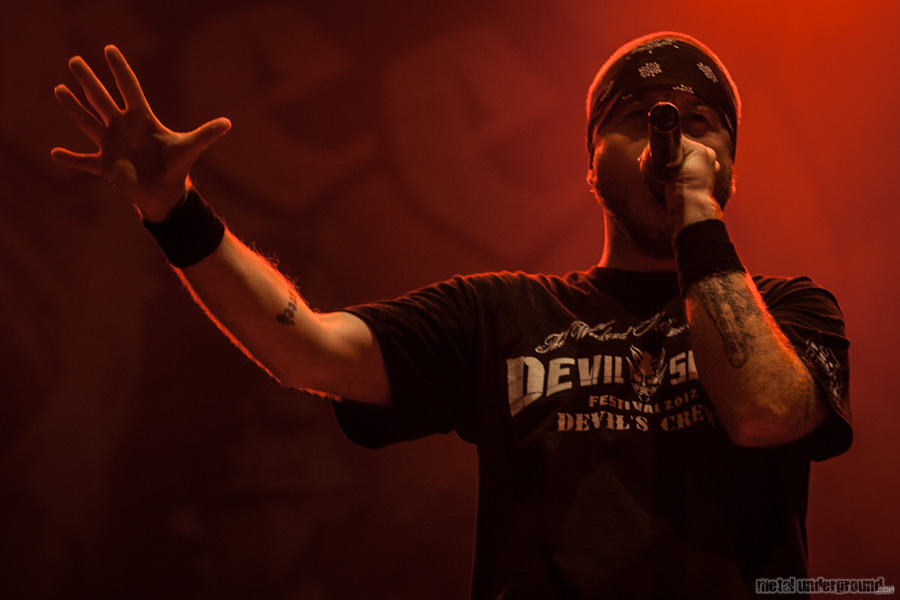 Hatebreed @ Metalcamp 2012, Day 4
