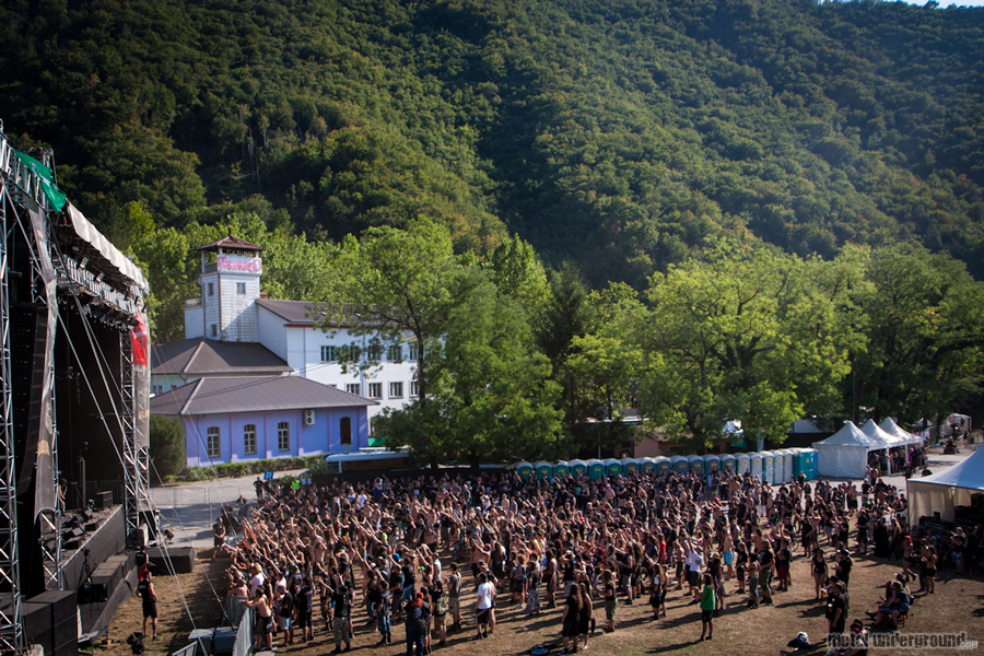 crowd @ Metalcamp 2012, Day 4
