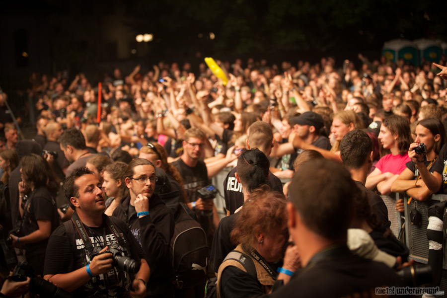 crowd @ Metalcamp 2012, Day 5