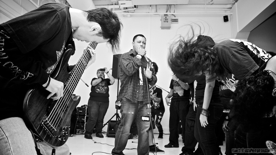 Analdicktion @ Singapore Death Fest 2011