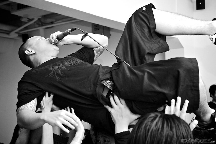 Down From The Wound @ Singapore Death Fest 2011