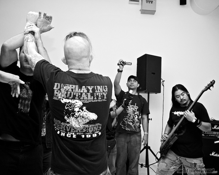 Revilement @ Singapore Death Fest 2011