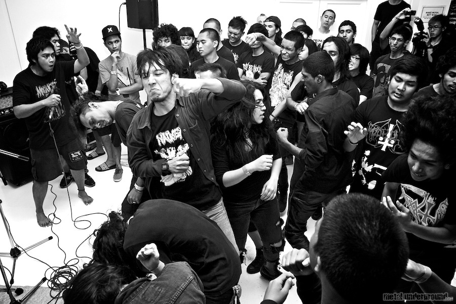 Wormrot @ Singapore Death Fest 2011