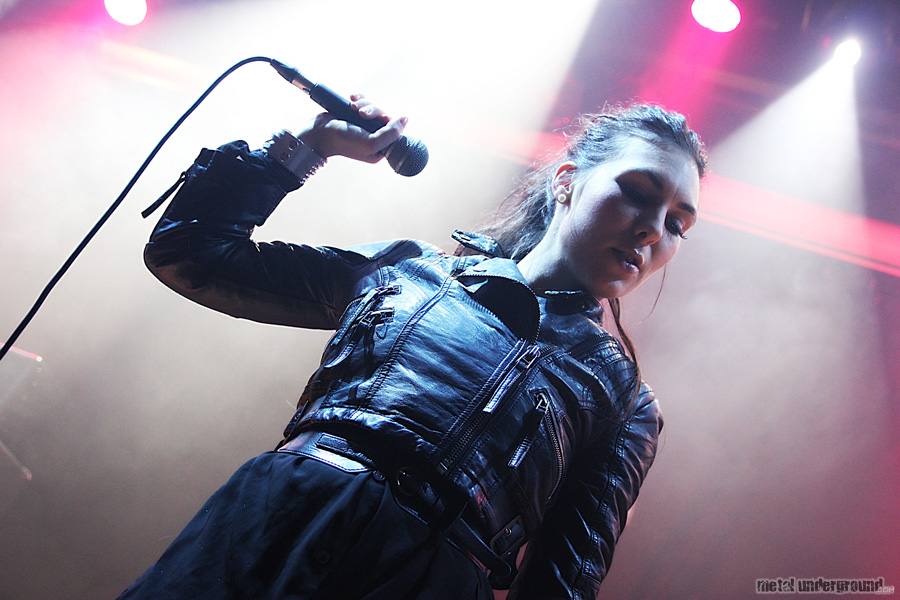 Amaranthe @ Spinefeast at Sea Cruise 2012