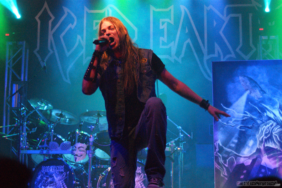 Iced Earth @ Symphony X, Iced Earth and Warbringer (Hartford, CT)