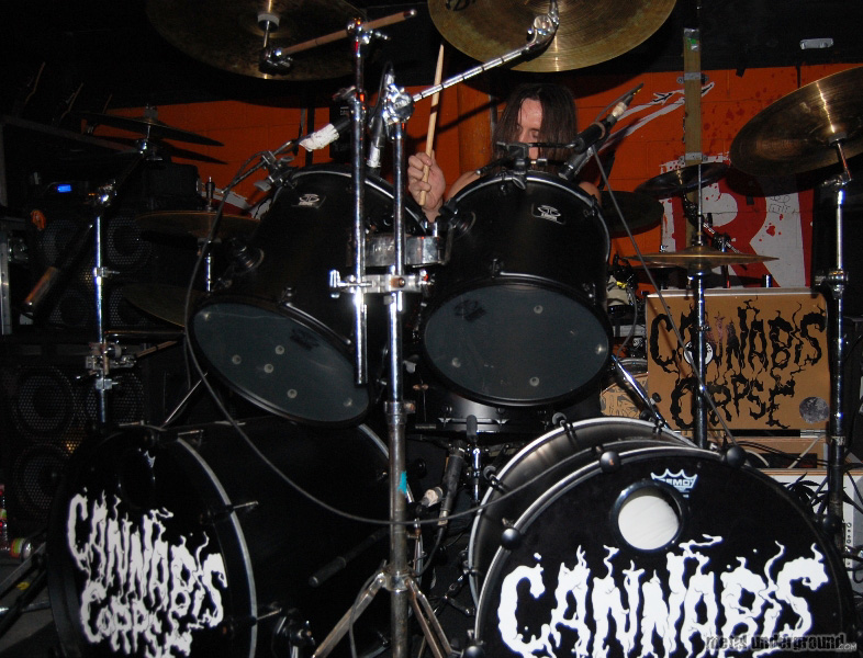 Cannabis Corpse @ The Black Dahlia Murder, All Shall Perish, Cannabis Corpse (Austin, TX)