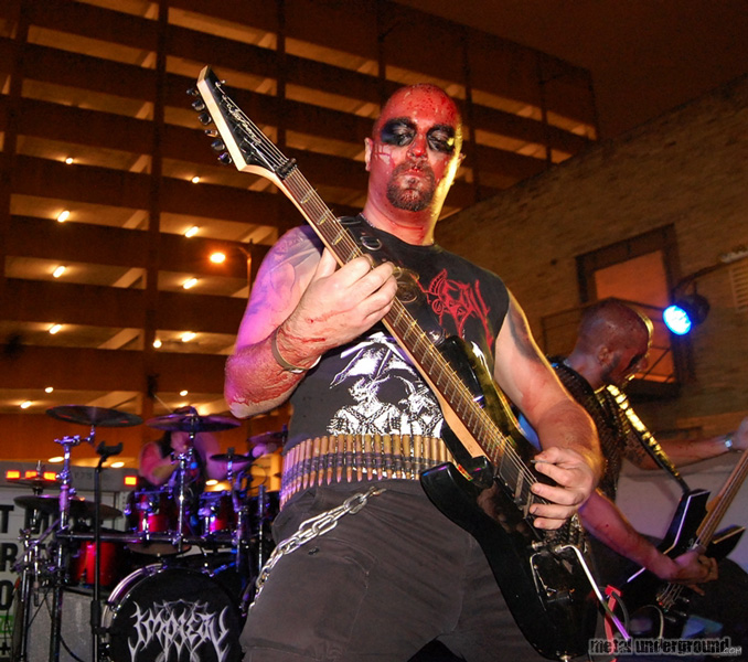 Impiety @ The Goregrowler's Ball 5, Day 1