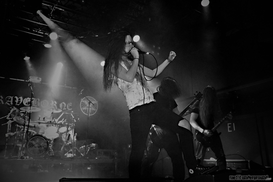 The Iniquity Descent @ The Iniquity Descent and Graveborne (Helsinki, Finland)
