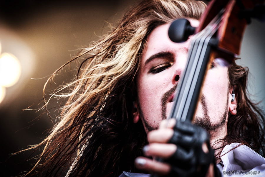 Apocalyptica @ Tuska Open Air Metal Festival 2012, Day 3
