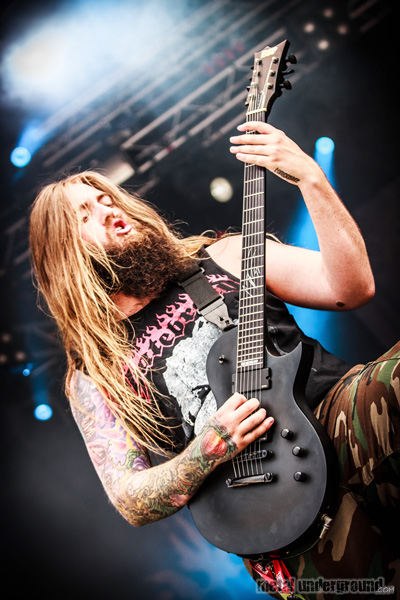 Suicide Silence @ Tuska Open Air Metal Festival 2012, Day 3