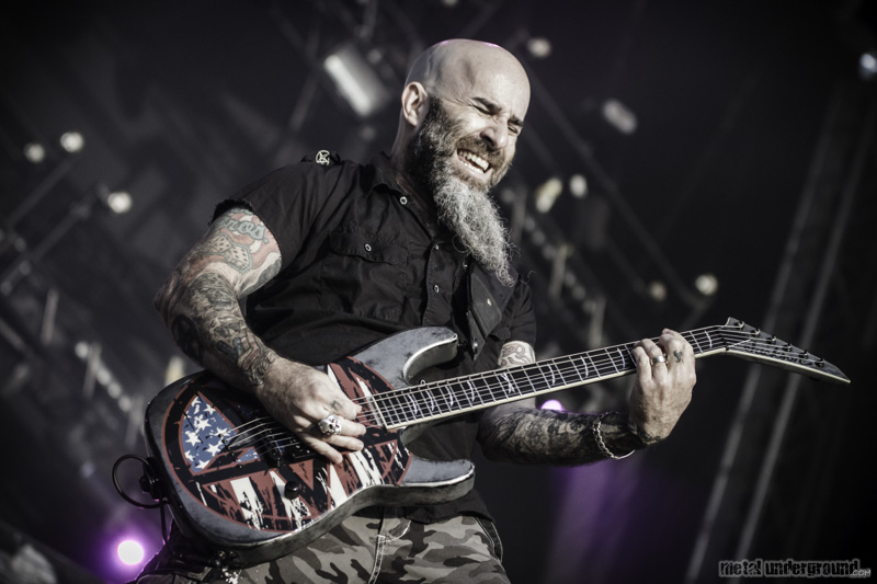 Anthrax @ Tuska Open Air Metal Festival 2014, Day 2