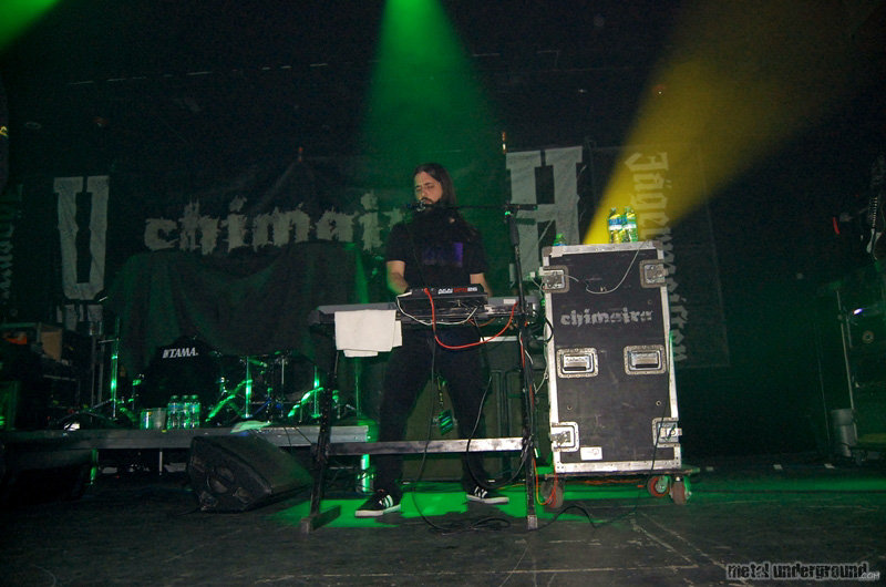 Chimaira @ Unearth and Chimaira (Austin, TX)