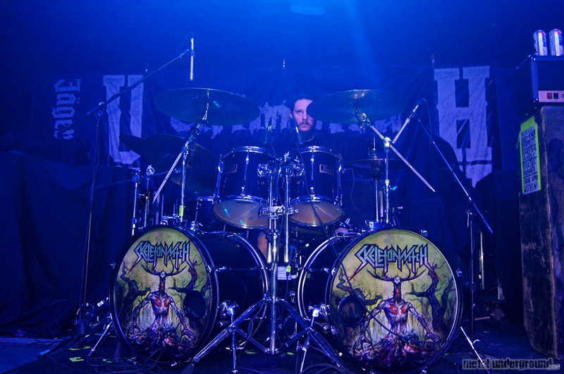 Skeletonwitch @ Unearth and Chimaira (Austin, TX)