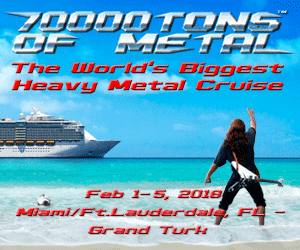 70000 Tons of Metal - The World's Biggest Heavy Metal Cruise